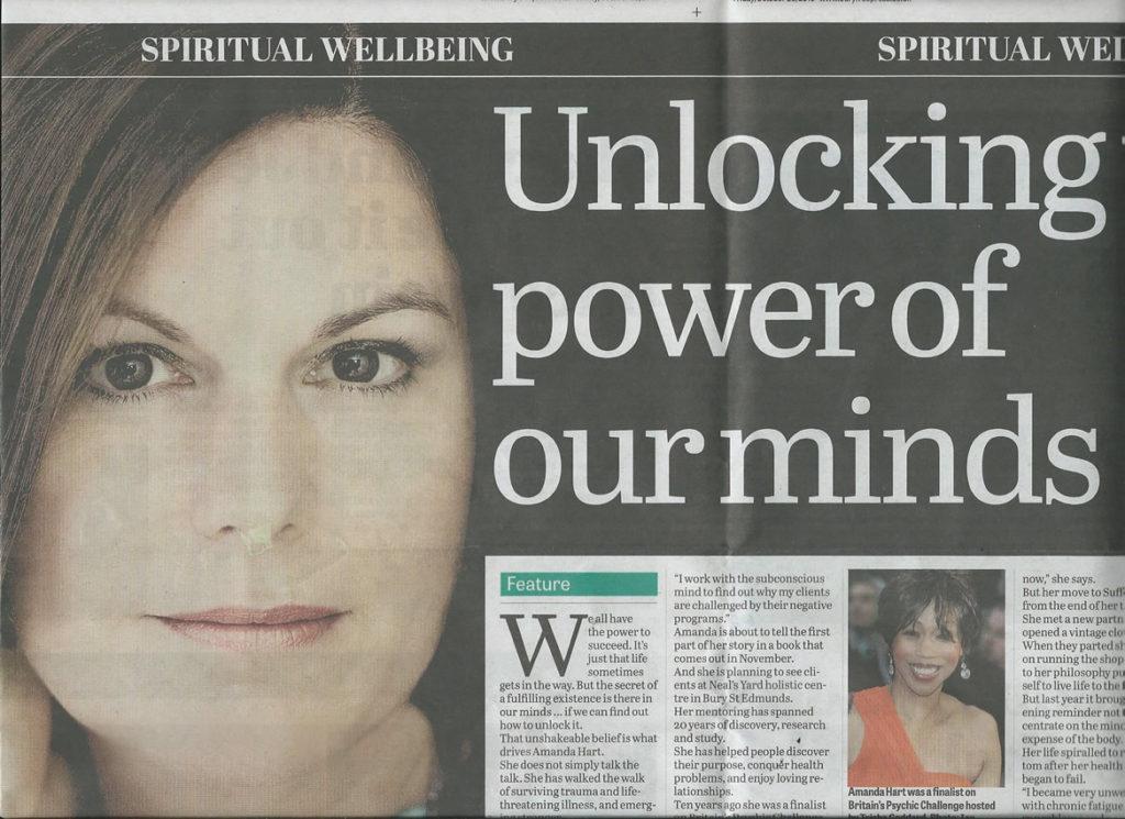Bury Free Press Article 23rd Oct 2015 Headline