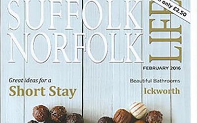 Suffolk Norfolk Life Magazine – February 2016 edition
