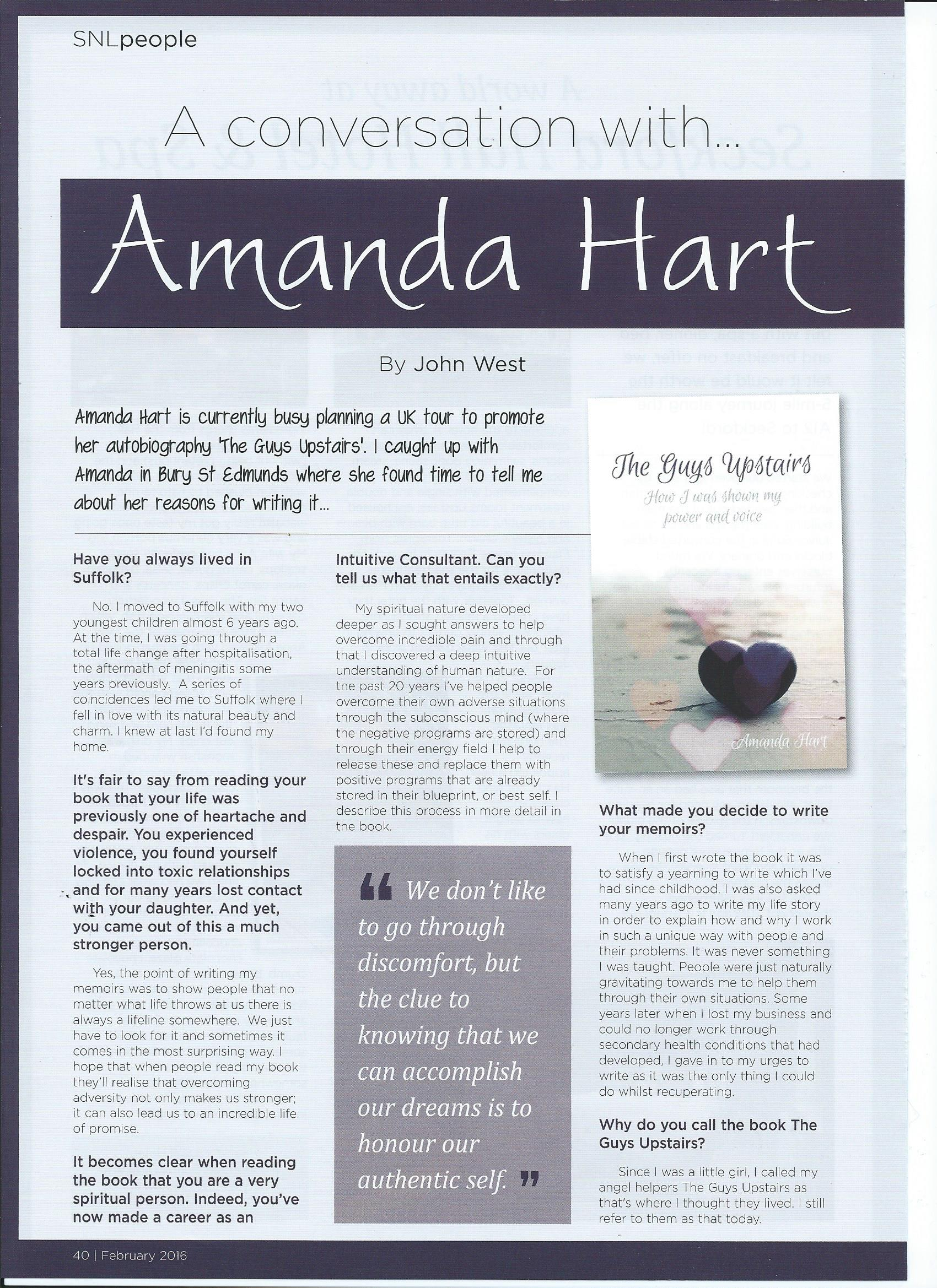 A Conversation with Amanda Hart Page 1 001