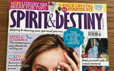 Article in Spirit & Destiny Magazine – October 2018 Edition