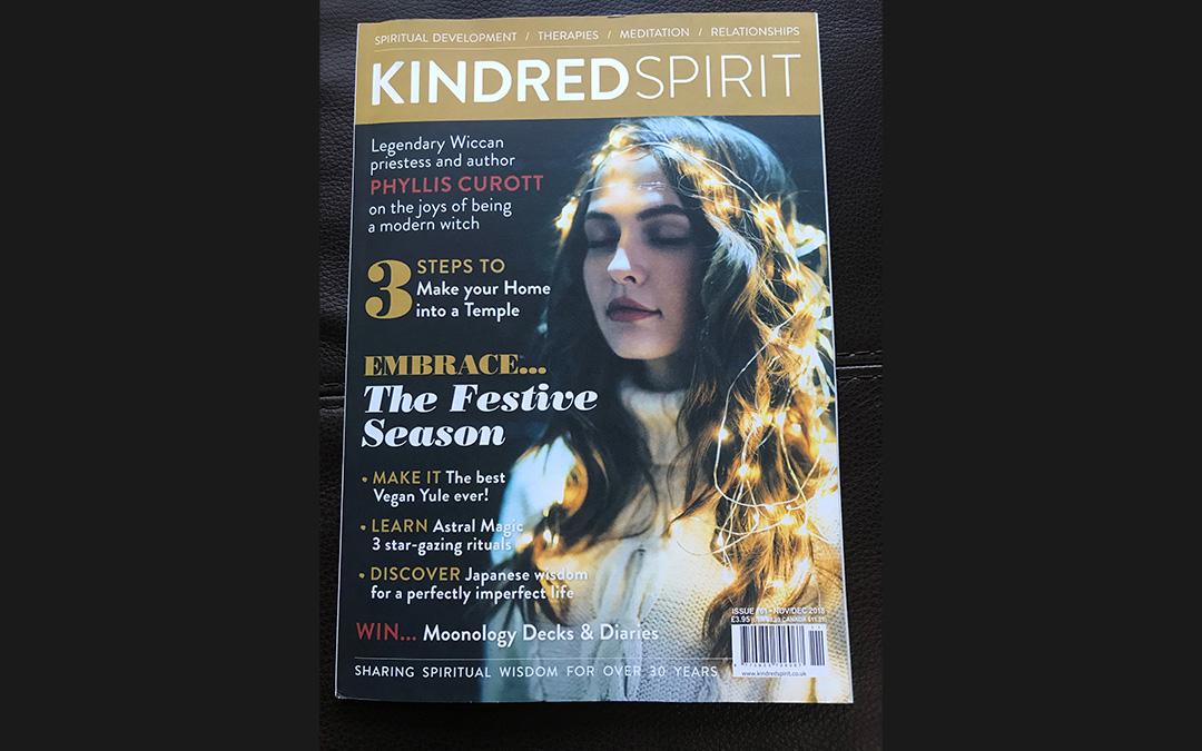 Article written for Kindred Spirit Magazine – Nov/Dec 2018 Issue